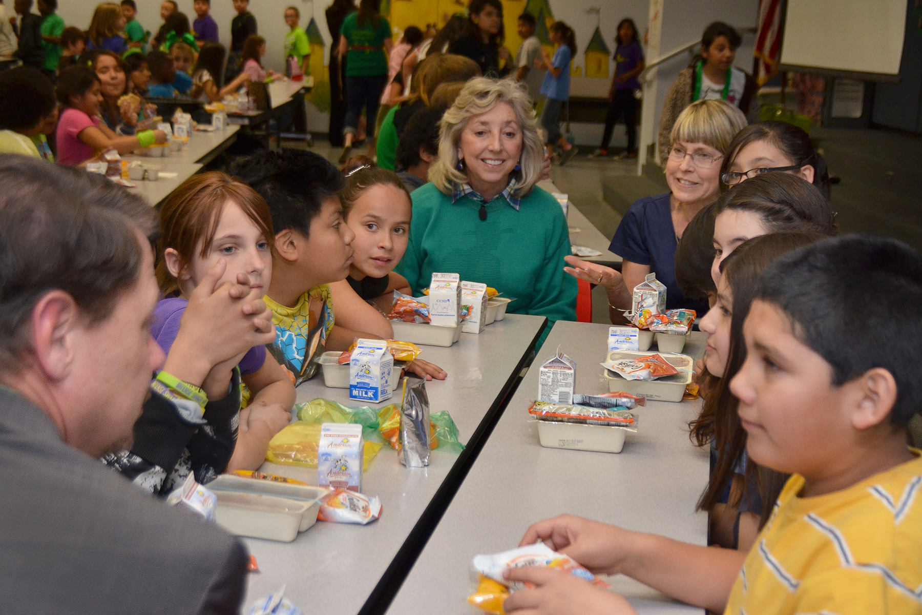 Titus introduced legislation designed to combat childhood hunger at school